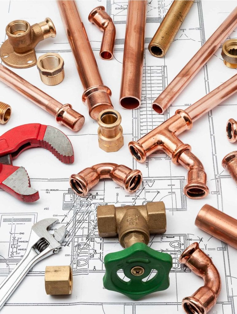 Idraulico Milano, progetto della rete idraulica domestica